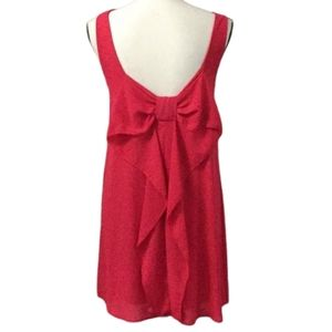 Red Everly Dress Easter summer low back small